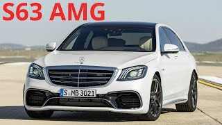 2018 Mercedes S 63 AMG 4MATIC+ Facelift - Design and Awesome 612 hp Engine Sound