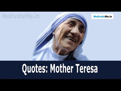 Mother Teresa Quotes God Speaks In The Silence Of The Heart Youtube