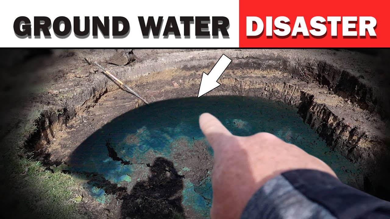 Groundwater Solutions For 3 Foot Deep Pond Part 1 Youtube