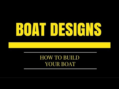 Wooden Boat Designs - How to Build Your Own Boat?