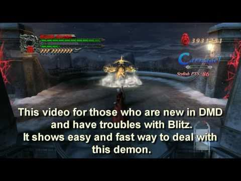 Devil May Cry 4 - Blitz is Easy. Tutorial (DMD, Nero and Dante) thumbnail