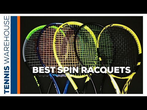 Most Spin Friendly (the BEST!) Tennis Racquets! (Playtester Approved) ✓✓✓