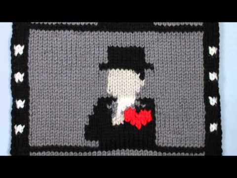 "Knitting Animation ""Film Muffler"" 2nd work"