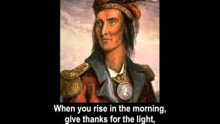 The Wisdom of Chief Tecumseh