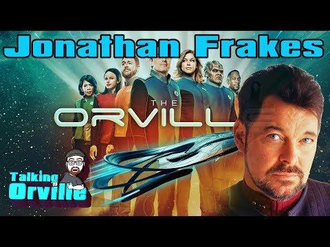 Jonathan Frakes Directing  TALKING THE ORVILLE