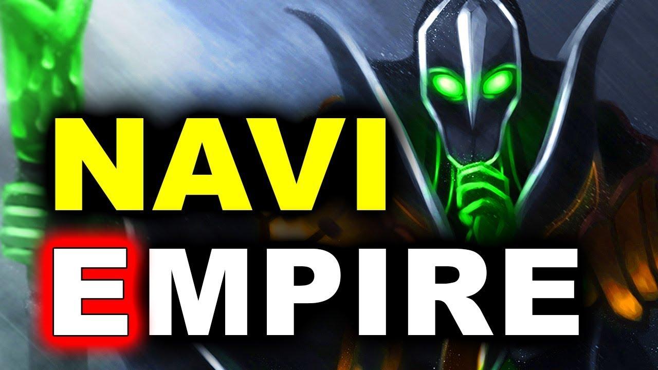NAVI vs EMPIRE Final CIS Bölgesi Galerisi