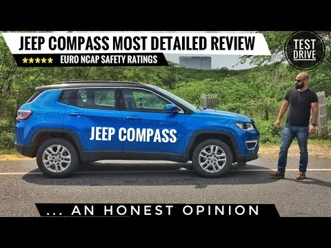 JEEP COMPASS MOST DETAILED REVIEW, TEST DRIVE, SAFETY RATING, PRICE, HONEST OPINION