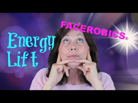 Use this ENERGY LIFT Technique to Energise & Lift Your Facial Muscles | Face Exercise - FACEROBICS