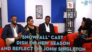 "Cast of ""Snowfall"" talk new season and reflect on working with John Singleton"