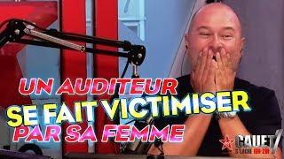 UN AUDITEUR SE FAIT VICTIMISER PAR SA FEMME