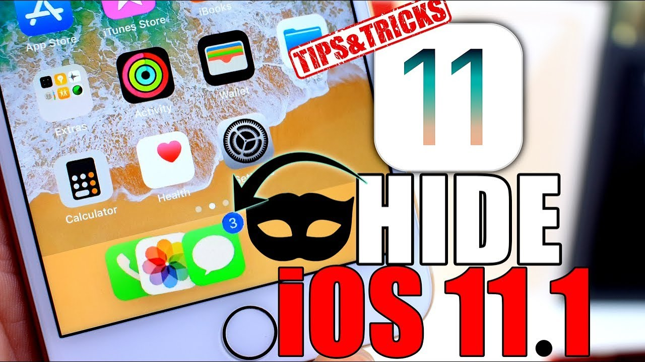Image result for How to Hide apps in iOS 11.0.1 and iOS 11.1 Beta.