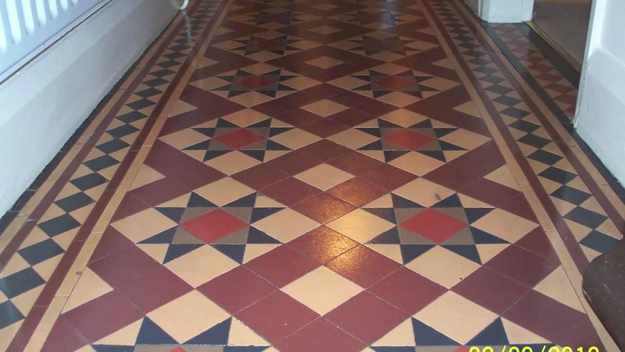 Victorian Minton Floor Cleaning Youtube