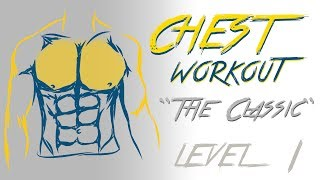 Chest Workout - Level 1 - No Music
