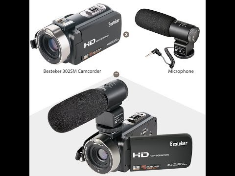 (Episode 2043) Amazon Prime Unboxing: Besteker FHD 1080p Digital Camera Camcorder @amazon