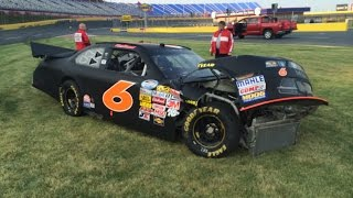 Crash At Charlotte Motor Speedway Private Testing.