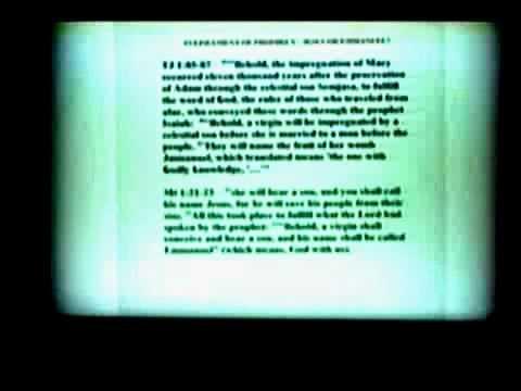 Talmud of Jmmanuel Jezus -  Prof. James Deardorff 3 of 4