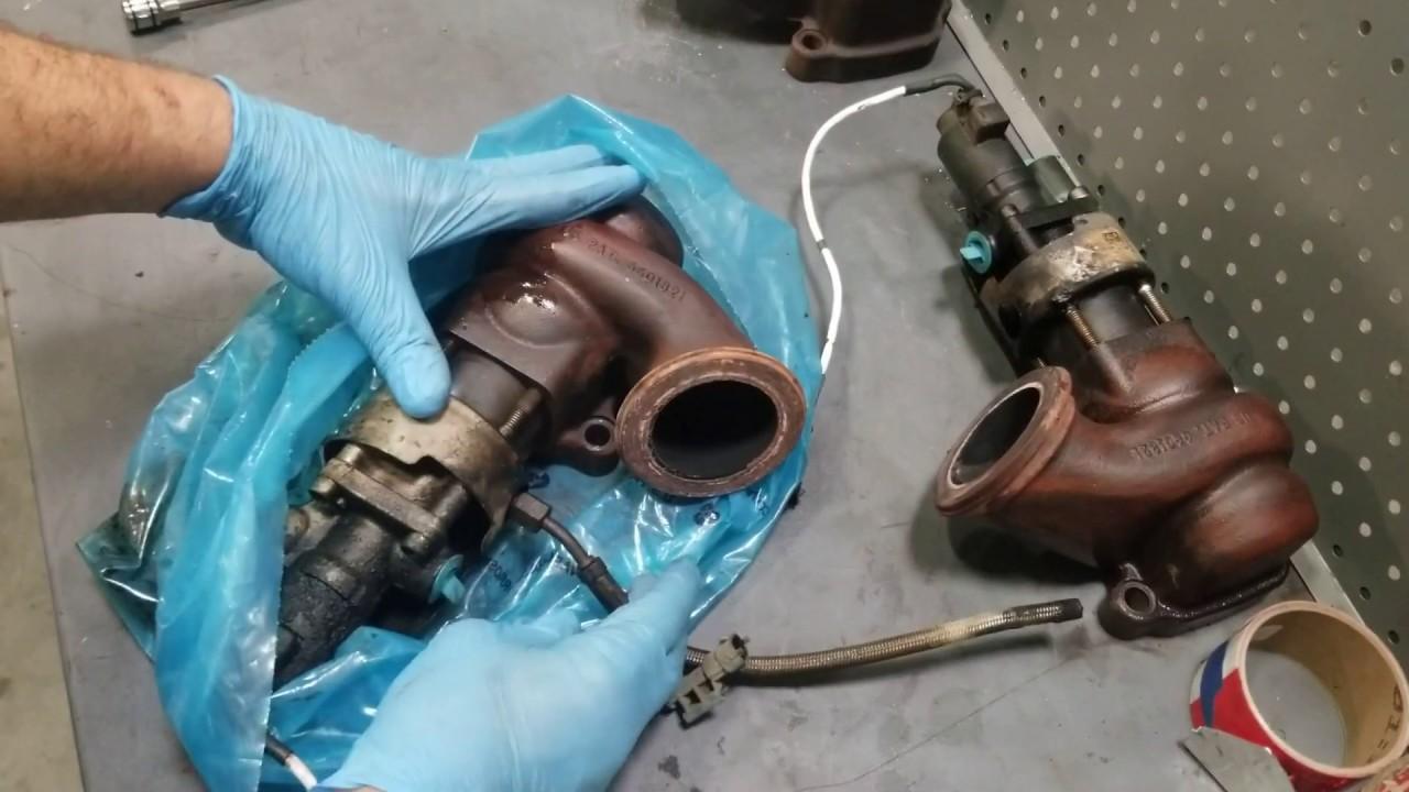 Volvo vnl d11 d13 egr valve take apart