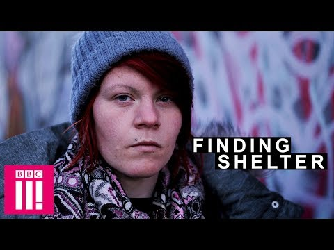 Finding Shelter On The Coldest Day | Girls Living On The Streets Of Brighton