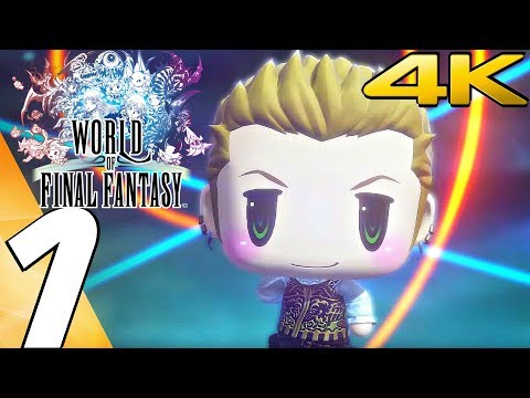 World of Final Fantasy (PC) - Gameplay Walkthrough Part 1 - Prologue [4K Ultra HD]
