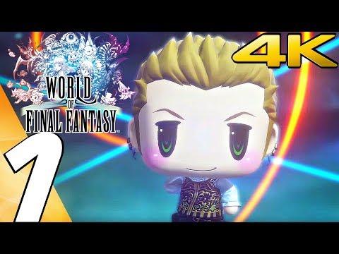 World of Final Fantasy (PC) - Gameplay Walkthrough Part 1 - Prologue [4K Ultra HD]