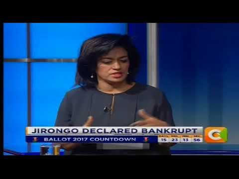 Power Breakfast News Review : Jirongo declared bankrupt