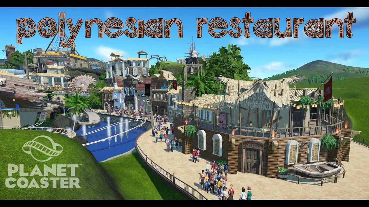 Planet coaster polynesian restaurant youtube