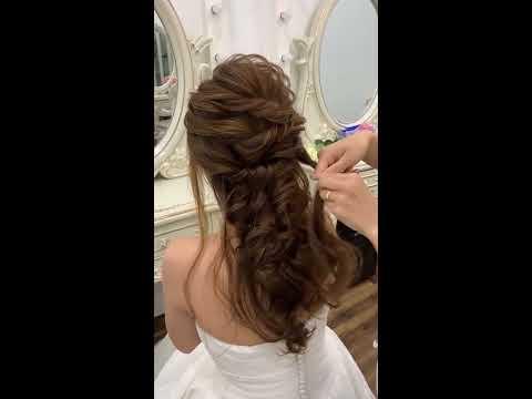 """Hướng dẫn """"kiểu tóc buông trễ Hàn Quốc đốn ngã mọi con tim"""" by Mai Đỗ Makeup"""