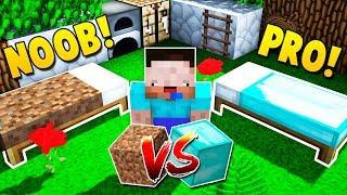 CAMA NOOB VS CAMA PRO 🤓⚔🤑 Minecraft Bed Wars