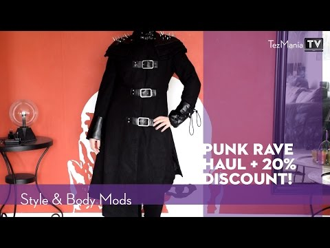 Punk Rave try on haul