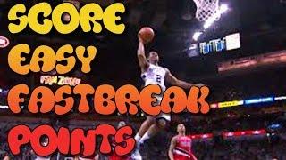 NBA 2K15 How To Score Easy Fast Break Points Tips/Tutorials