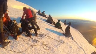 Dave Ford Does Mount Rainier: Crevasse falls, non-summits, and magical lessons