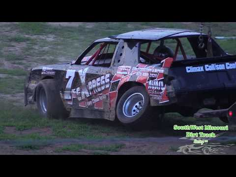 Lebanon Midway Speedway July 7, 2017 Bombers Heat Races