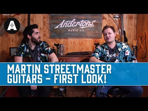 First Look - Martin Streetmaster Guitars