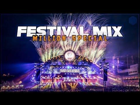 EDM FESTIVAL MIX 2018   1 Million Sub Mega Mix + Giveaway