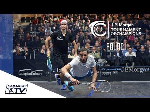 Squash: Tournament of Champions 2018 - Men\'s Rd 1 Roundup [Pt.3]