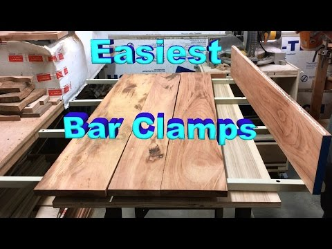 Fast Homemade Bar Clamps Made Out of Scrap Metal Rods