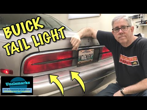 How to replace tail light bulb on buick park ave 1996 assembly (EP 105)