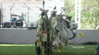 Great Plains Indian Dancers - AIAC 2008