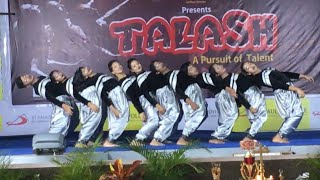 winners of dance competition organised by talash team magnesium dance studio