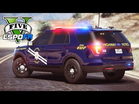 GTA 5 - LSPDFR Ep182 - Nevada Highway Patrol Chases!!