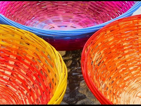 decorar cestas de mimbre 3 maneras faciles decorate wicker baskets 3 easy ways youtube - Decorar Cestas De Mimbre
