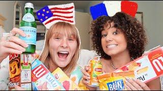MA POTE AMERICAINE GOUTE DES PRODUITS FRANÇAIS & c drole|| Léna Situations