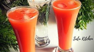 സൂര്യാഘാതത്തെ ചെറുക്കാൻ ഒരു Energy Drink || Refreshing Drink || Salu Kitchen's Beat the Heat Series