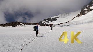 Weißkugel Besteigung / Hochtour 2017 (3739m) mit Spaltensturz - fall into crevasse