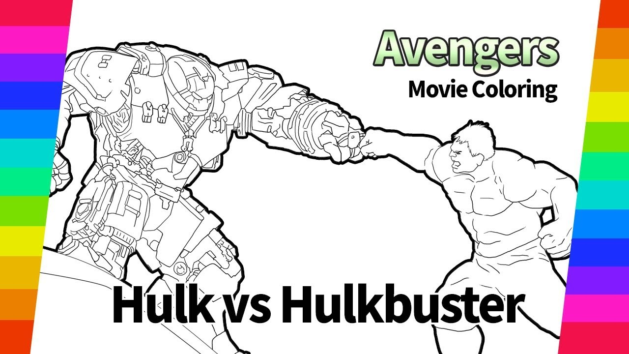 92 FREE THANOS VS HULK COLORING PAGES PRINTABLE PDF ...
