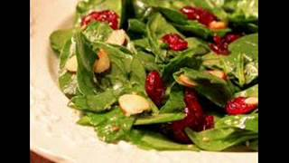 The Best Ever Cranberry Spinach Salad Recipe In Description