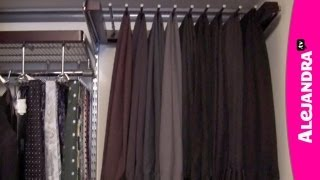 Men's Closet Organization - How To Organize Your Husband's Closet