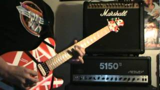 Atomic Punk (Van Halen Guitar Cover)