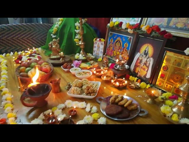 Amazing Karthigai Deepam Decoration for home | Thiruvannamalai Maha Deepam Bharani Deepam Live 2017