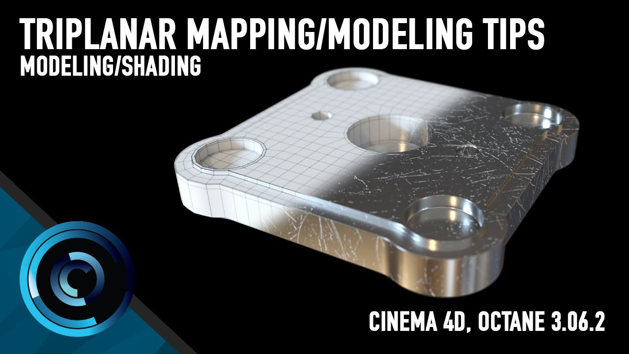 Triplanar Projection Octane C4D + Modeling Tips and Tricks